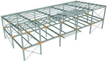 انجام پروژه دانشجویی سازه های فولادی