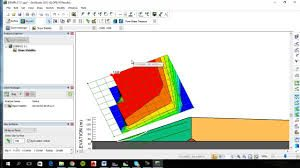 انجام پروژه با نرم افزار ژئو استادی(GeoStudio)