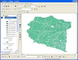 انجام پروژه مکان یابی ، ارزیابی و آمایش سرزمین با نرم افزار ARC GIS و نرم افزار IDRISI