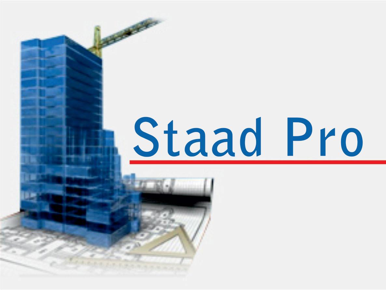 انجام پروژه با نرم افزار STAAD.Pro
