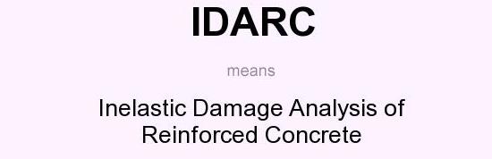 انجام پروژه با نرم افزار آیدارک (IDARC)